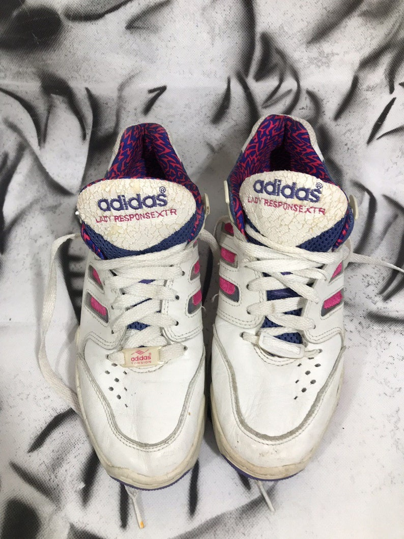 1994 Adidas Response Vintage Women's Athletic Shoes 90s 80s