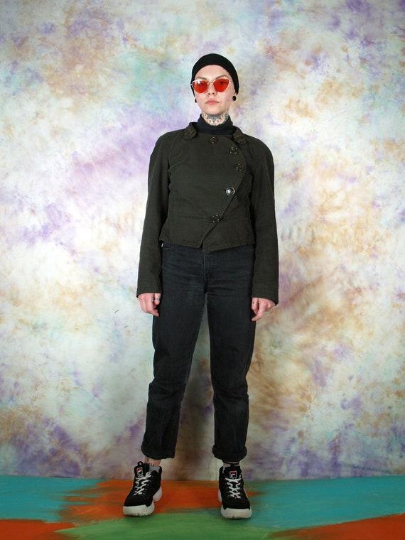 Vivienne Westwood Vintage Brown Button Blazer Cas… - image 1