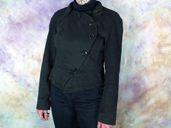 Vivienne Westwood Vintage Brown Button Blazer Cas… - image 3