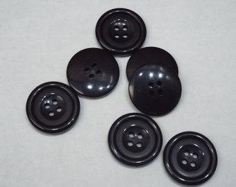 8pc 23mm Mock White Grey Bone Cardigan Trouser Shirt Kid Baby Sewing Button 0264