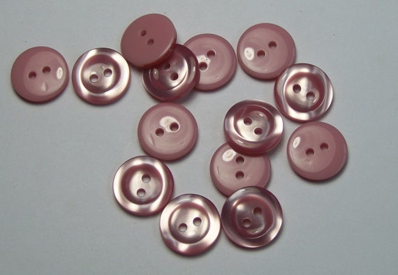 10pc 16mm Dusky Pink Cardigan Trouser Dress Children Baby Sewing Buttons 0182