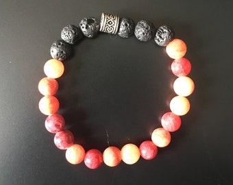 Lava on the Rocks I Diffuser Bracelet