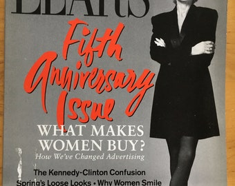 Lear's Magazine Mar 1993 - Fifth Anniversary Issue