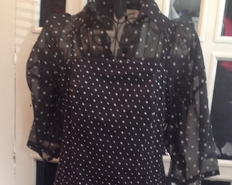 Vintage Style preloved yessica dress 10/12
