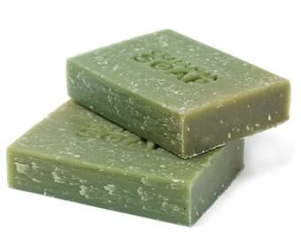Green Man soap 100g-gardener scrub