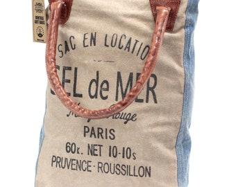Vintage handbag-sac en location