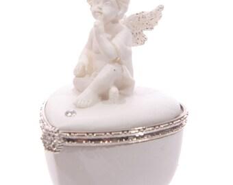 Angel Heart Shaped pillbox b