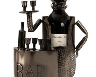 Wine bottle Holder Bartender, 33 x 20 cm