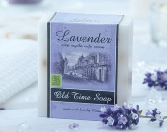 Natural soap with Shea Butter Lavender, 100 gr