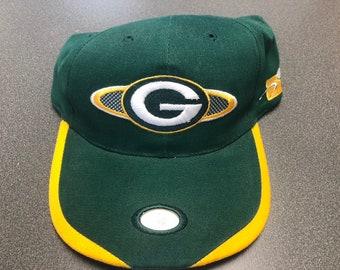 368acdc5c Vintage Green Bay Packers Sports Specialties Adjustable Snapback Hat Cap NFL