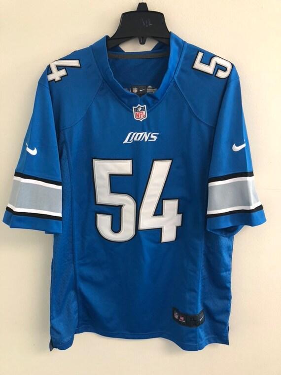 Nike Detroit Lions Deandre Levy #54 On Field Sewn Jersey Size XL