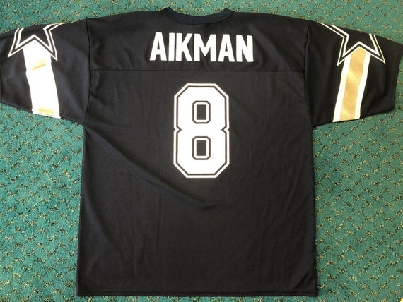 low priced e11a3 a557d Vintage Logo 7 Dallas Cowboys Troy Aikman NFL Football Jersey Size L Large  90's