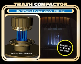 The Armorer Forge Diorama Model DIGITAL