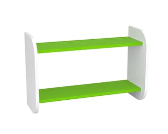 Kids Bookshelf Oscar Colour White