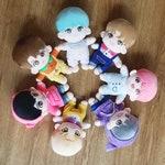 BTS Plushie Doll Bangtan Army Kpop J-Hope Jimin Jin Jungkook RM Suga V Hoseok Namjoon Yoongi Taehyung Fandom Merch OPPANG