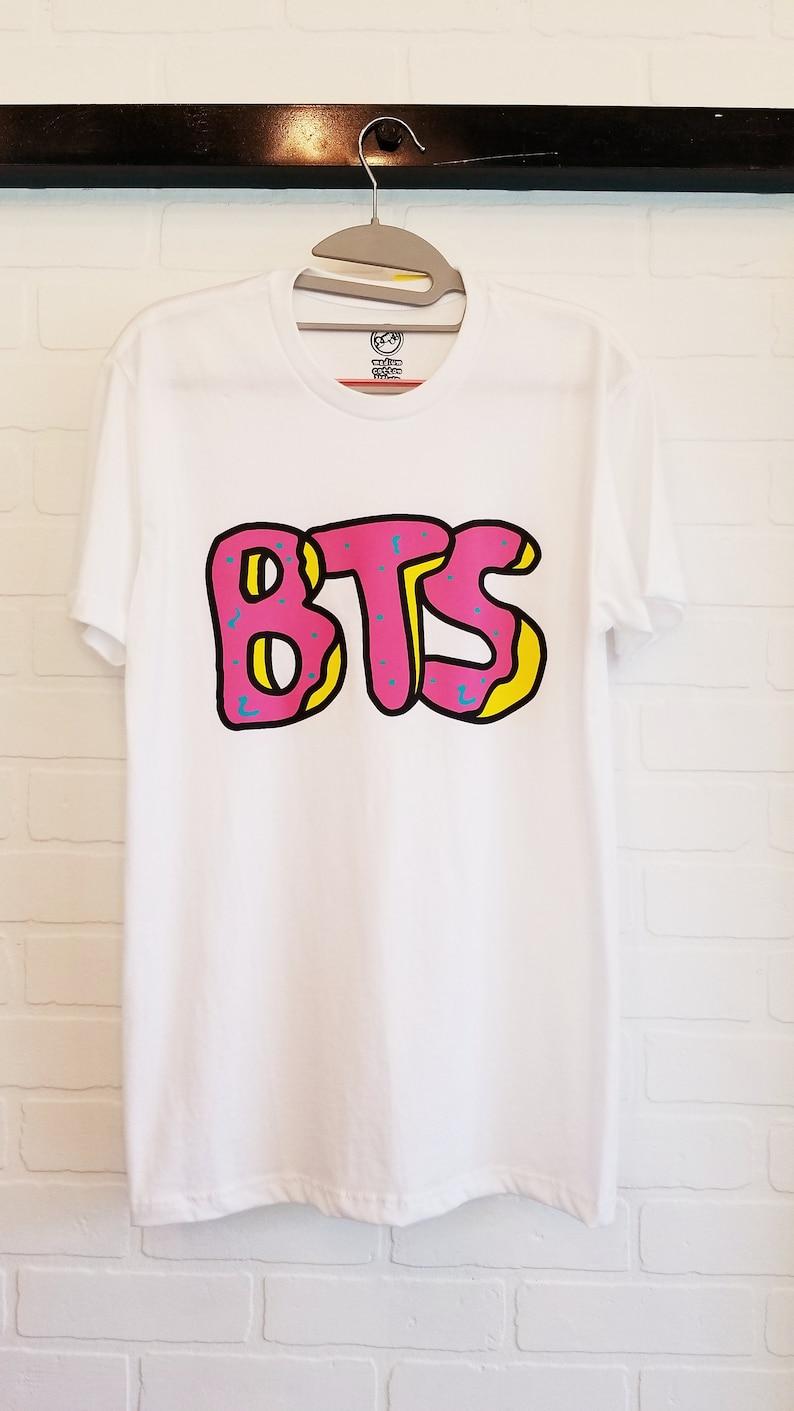 93991ab4b048 BTS Bangtan Donut Tshirt Kpop Brand New Army Sweatshirt Korea