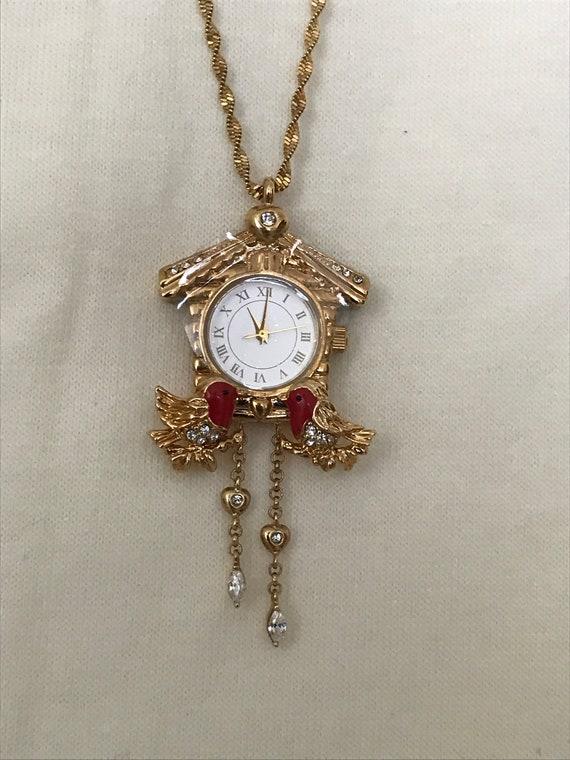 The Bradford Exchange cuckoo clock / birdhouse nec