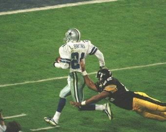 dd4c1fb87 1995 Dallas Cowboys Super Bowl XXX 30 Season on DVD Larry Brown
