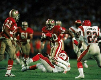 4d8594415ee 1988 San Francisco 49ers Super Bowl XXIII 23 Season on DVD Jerry Rice