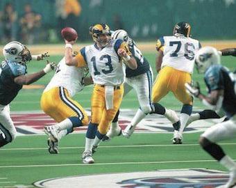 2bcb766da 1999 St. Louis Rams Super Bowl XXXIV 34 Season on DVD Kurt Warner