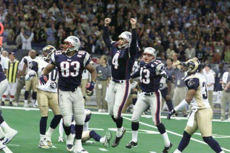 2001 New England Patriots Super Bowl XXXVI 36 Season on DVD  6d0382138