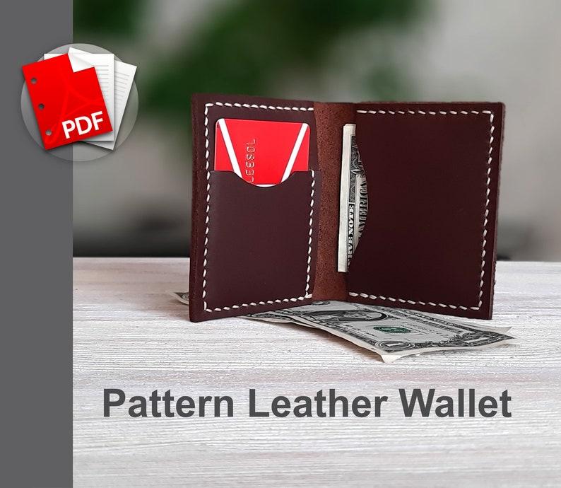 Wallet pattern pdf wallet tutorial front wallet pattern slim