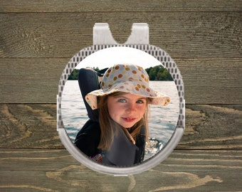 Personalized Ball Marker   Hat Clip Ball Marker   Golf Gifts   Custom Photo