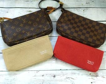 0066cfa9f5511 Felt Bag insert Organizer Organiser Shaper For Louis Vuitton Lv Pochette  accessoires pouch accessories purse pouchette kirigami large