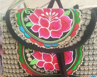 Embroidered back packs