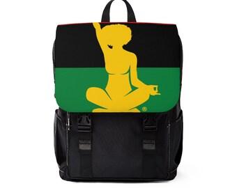 Black Liberation Yogi Small Shoulder Backpack
