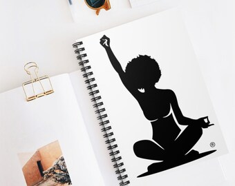 Soul Liberation Spiral Notebook - Ruled Line