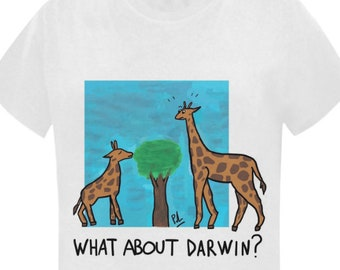 1b003e2ba TShirt Donna - What about Darwin? PallaStore. 5 out of ...