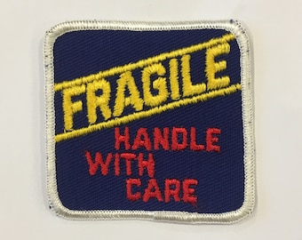 Fragile Handle With Care Vintage Rare Retro L@@K