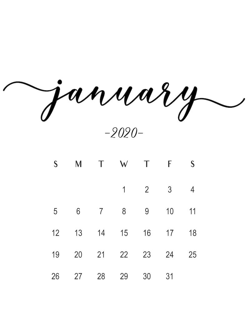 Calendario Gennaio 2020 Da Stampare.Gravidanza Annuncio Calendario Gennaio 2020 Idee Di Annuncio Di Gravidanza Papa Annuncio Baby Bump Baby A Causa Calendario Stampabile 2020