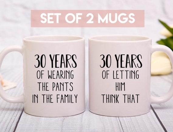 30th Anniversary Mug 30th Wedding Anniversary Gift 30 Years Etsy