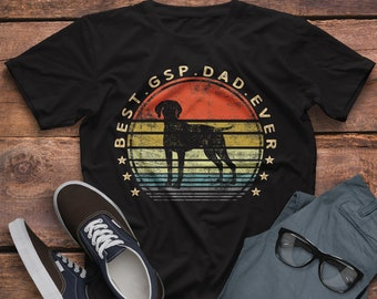 0c22fabd7 Best DSP Dad Ever Shirt / German Shorthaired Pointer Shirt / Fathers Day  Shirts / Dog Dad Shirt / Dog Lover T-shirt / Funny Dog Owner Shirt