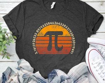 2578a8151b Pi Day 3.14 Symbol Shirts / Tank Top / Hoodie / Kids Tee / Retro T-Shirt / Gift  for Math Teacher / Pi Day Shirt / Nerd Tshirt / 3.14 Shirt