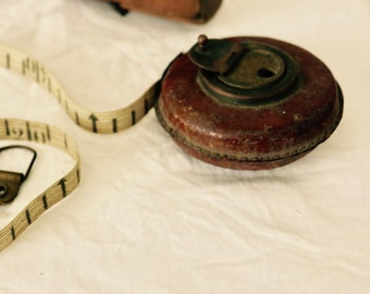 Vintage French Builders Tape Measure
