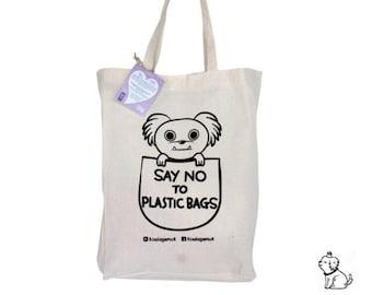 Say No to Plastic bags - Koala Gemuk