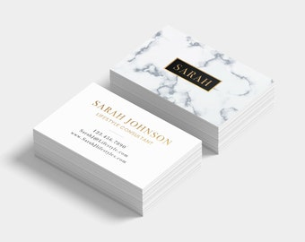 Luxury business card etsy custom business cards luxury business card marble business cards business cards gold business card gold foil customizable card reheart Images