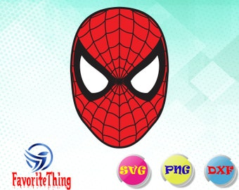 Spiderman svg,dxf,png/ Spiderman Vector / Spiderman Silhouette / Superhero SVG / Spiderman PNG / svg Files for Cricut