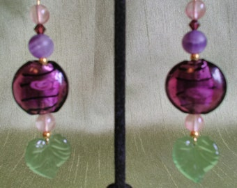 """Cassis. """"Nature"""" collection. These earrings."""