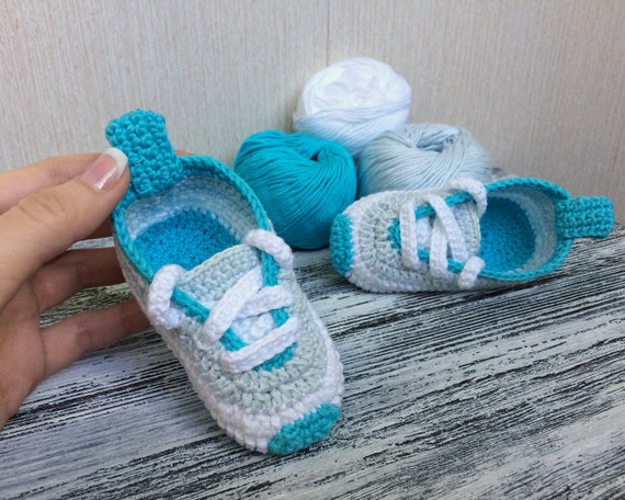 0-3 months Baby Boy Booties