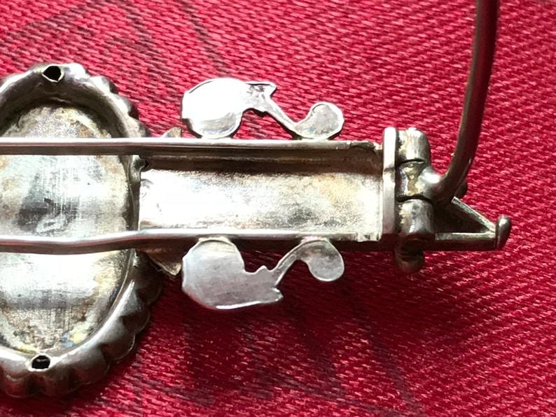 Edwardian Hallmarked Silver Brooch
