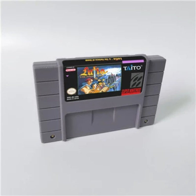Lufia 1 Fortress of Doom - SNES Super Nintendo NTSC Usa - English  Translated - RPG Cart