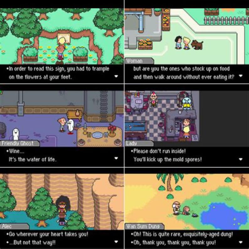Mother 3 - Earthbound 2 GBA - English - Fan Translation Gameboy Advance