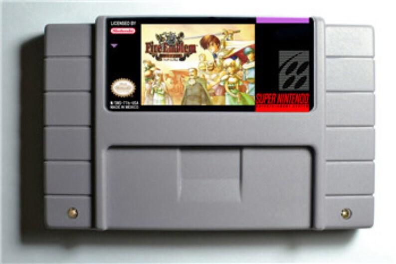 Fire Emblem - Thracia 776 - SNES Super Nintendo USA English Patch - Save  System