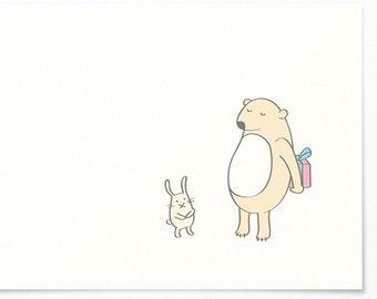 Birthday Card - Large & Small - Congratulations Card / Birthday Greeting Card - Happy Birthday - Dad Mom Grandpa Grandma