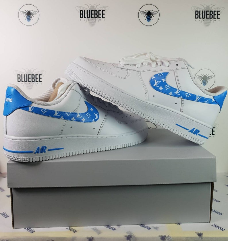 4720571891d6 Nike Air Force 1 Supreme LV Custom