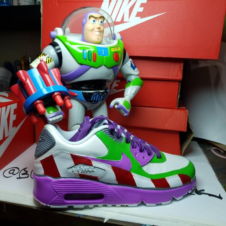 ebff1193043 Buzz light Year Nike Air Max Custom.